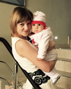 Давид с мамой Татьяной